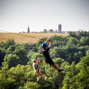 Camping Rodez Aveyron · accrobranche2
