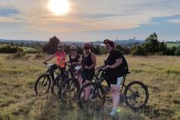 Camping Rodez Aveyron · coucher de soleil vttae combelles scaled 1 uai