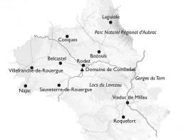 Camping Rodez Aveyron · carte combelles aveyron 26621 uai
